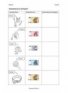 Cito - rekenen - geld - Aantal kopen 02