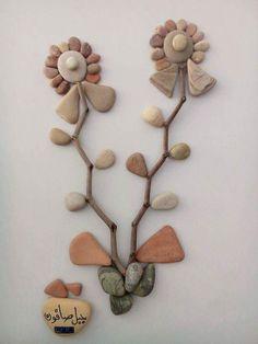 Nizar Ali Badr est un sculpteur syrien qui réalise des arrangements de cailloux…