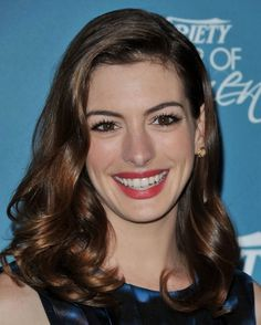 Image result for anne hathaway medium hair