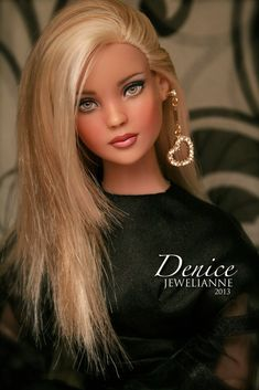 """Denice 1739"" by Jewelianne Repaints 