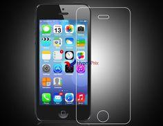 Protecteur d'écran verre trempé pour iPhone5/5 s (Transparent)
