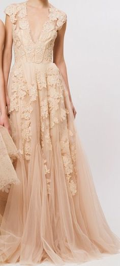 Reem Acra Resort 2013 Look 13 for sale on OnceWed.com. Paid: $8000, on sale for $5000 (38% off). #weddingdress http://www.oncewed.com/used-wedding-dresses/resort-2013-look-13/