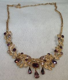 Purple Coro Necklace by StonesFromHome on Etsy, $22.00