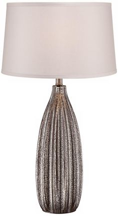 J. Hunt Faceted Mercury Glass Table Lamp | Brown house | Pinterest ...