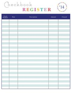 Manual Check Register - Download Microsoft Word Document ...