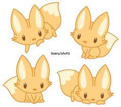 Chibi Chicken by Daieny on DeviantArt Kawaii Chibi, Cute Chibi, Kawaii Cute, Anime Chibi, Anime Animals, Cute Animals, Funny Animals, Cute Drawings, Animal Drawings