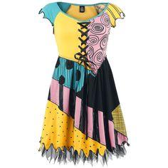 Sally Cosplay Dress - Robe courte par The Nightmare Before Christmas 49,99 euros
