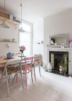 Caroline & Simon's Modern Vintage Maisonette in London — House Tour | Apartment Therapy