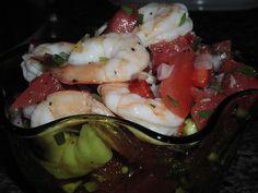 Beer-Steamed Shrimp With Tomato Salsa Recipe - Food.com