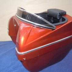 Pet carrier for a scooter or motorcycle. Gotta have one!!