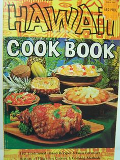Hawaiian Cookbook Vintage Luau Recipes by WitsEndDesign on Etsy, $8.00