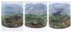 Three Highland Landscape Lampshades