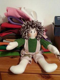 bambola di pezza#rag doll#cucito creativo#creative sewing