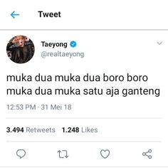 We be screaming Go! Funny Tweets, Funny Jokes, Hilarious, Jokes Quotes, Qoutes, Message Quotes, Quotes Indonesia, Read News, Nct Dream