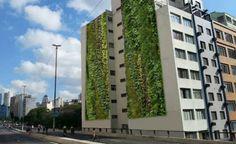 Arquitetura Sustentavel: Primeiro jardim vertical do Minhocão fica pronto e...