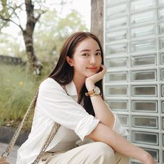 Casual Fashion Trends, Fashion Outfits, Photography Poses, Fashion Photography, Normcore Fashion, Cute Love Couple, Wild Girl, Thai Style, Girl Face