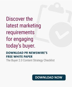 The Buyer Content Strategy Checklist Pr Newswire, Marketing Professional, Marketing Ideas, White Paper, Content Marketing, Knowledge, Inbound Marketing, Facts
