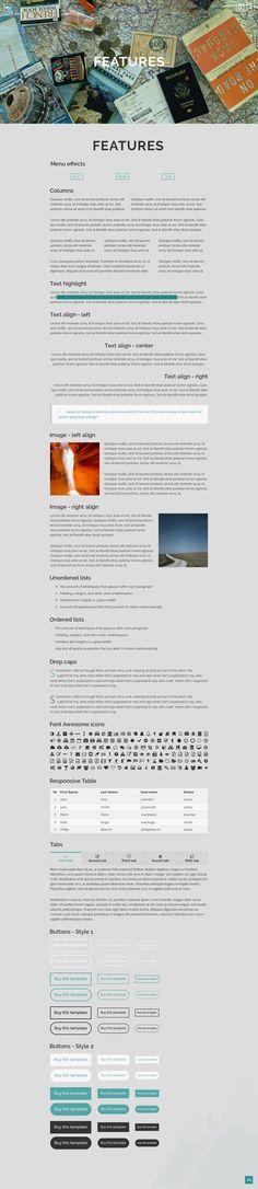 Blog Websites, Photographer Portfolio, Travelogue, Wordpress Theme, Blogging, Image, Blog