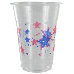 Soft Plastic Cups - Stars $3.99