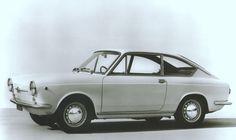 Fiat 850 Coupe. Beautiful styling.