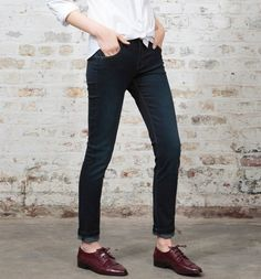 Jean+skinny+push+up+Femme