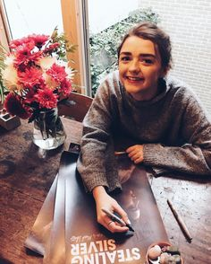 """249.7k Likes, 700 Comments - Maisie Williams (@maisie_williams) on Instagram: """"our Stealing Silver posters are up for sale! I'm signing 1 in every 10 purchased, follow the link…"""""""