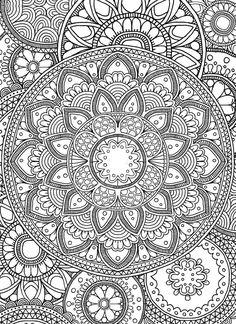 Mandala 7 by janelle-dimmett mandalas mandala ausmalen, mand Mandala Art, Mandala Doodle, Mandalas Painting, Mandalas Drawing, Abstract Coloring Pages, Pattern Coloring Pages, Mandala Coloring Pages, Coloring Book Pages, Free Adult Coloring