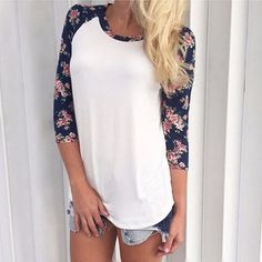 - Beautiful floral print sleeve casual shirt for the modern fashionista - Popular design offers a cool classic look - Great for the workplace or casual outings - Made from high quality material