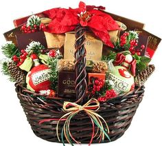 Home for the Holidays Christmas Gift Basket  http://www.fivedollarmarket.com/home-for-the-holidays-christmas-gift-basket-4/