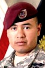Army SGT. Israel Garcia, 24, of Long Beach, California. Died July 13, 2008, serving during Operation Enduring Freedom. Assigned to 2nd Bn, 503rd Inf Regt (Airborne), 173rd Airborne Brigade Combat Team, Vicenza, Italy. Died of injuries sustained from enemy small-arms fire and rocket-propelled grenades in Wanat, Afghanistan. Though mortally wounded, he prevented the observation post from being overrun. (RECIPIENT OF SILVER STAR FOR CONSPICUOUS GALLANTRY AND INTREPIDITY AGAINST AN ENEMY FORCE)