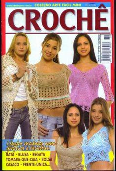 revista arte facil croche minuano 76