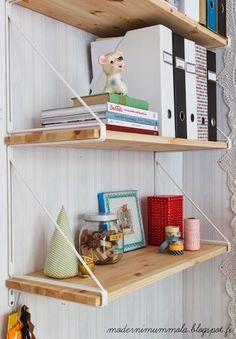 The Little Design Corner | IKEA gallo shelves | IKEA hacks