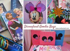 Σακούλες με δωράκια (goodie bags) για την Disneyland