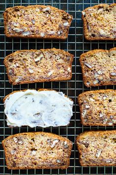 Brown Butter Banana Bread Recipe with Vanilla Butter