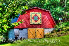 Ashe County North Carolina - On the Ashe County Barn Quilt Trail