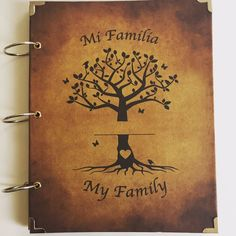 Mi Familia - My Family Memory Scrapbook