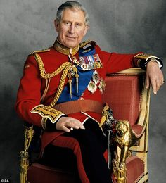 2008 The official portrait marking Prince Charles 60th birthday