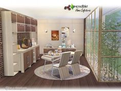 The Sims Resource: Home Cafeteria by SImcredible • Sims 4 Downloads