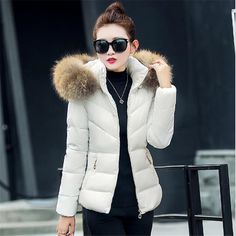 Fake fur collar Parka down cotton jacket 2016 Winter Jacket Women thick Snow Wear Coat Lady Clothing Female Jackets Parkas-in Parkas from Women's Clothing & Accessories on Aliexpress.com | Alibaba Group