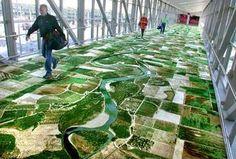 Digitally printed floor...Fantastico!