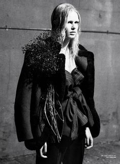 Rebel Flower: Anna Ewers by Willy Vanderperre for V Magazine Fall 2014