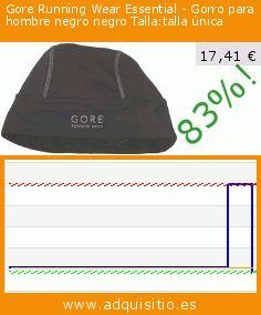 Gore Running Wear Essential - Gorro para hombre negro negro Talla:talla única (Ropa). Baja 83%! Precio actual 17,41 €, el precio anterior fue de 99,70 €. https://www.adquisitio.es/gore-running-wear/essential-gorro-hombre-1