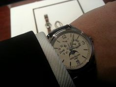 @tidssonen wisited my shop and I had to try his #pp #patekphilippe whit gold