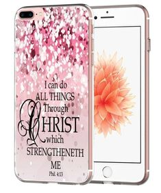 BIBLE VERSE Slim Thin Cute Bling Phone Case Cover Accessories For iPHONE 7 PLUS | eBay