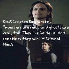 Criminal Minds has some of the best eye-openers, too. And that's why I love this Psych-filled show so much :D