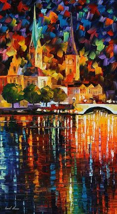 The Light Of History Poster By Leonid Afremov @Jana Wilburn, Can I commission you to paint me something like this?