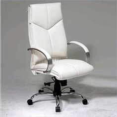 boss office products italian leather high back executive chair w