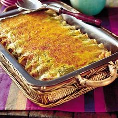 Learn how to make Chicken Enchiladas. MyRecipes has 70,000+ tested recipes and videos to help you be a better cook