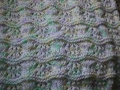 Lullaby and Goodnight Baby Blanket (fingering weight)