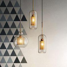 Chiswick Glass Pendant Light – Tudo And Co Pulley Pendant Light, Art Deco Pendant Light, Industrial Pendant Lights, Modern Pendant Light, Glass Pendant Light, Glass Pendants, Pendant Lamp, Pendant Lighting, Modern Lamps